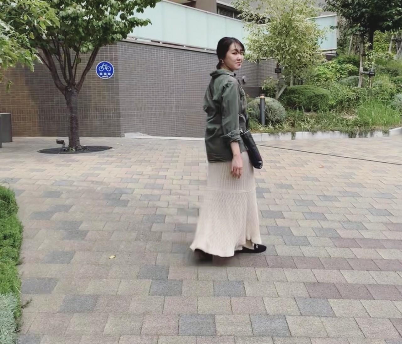休日コーデ【美容院へ行く日】