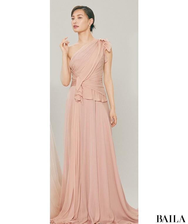 ピンクドレス1