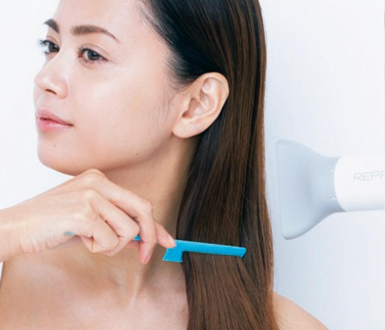 髪のうねり・クセ毛を抑える、シャンプー後のひとテクを伝授!【2020-2021厄払い美容12】
