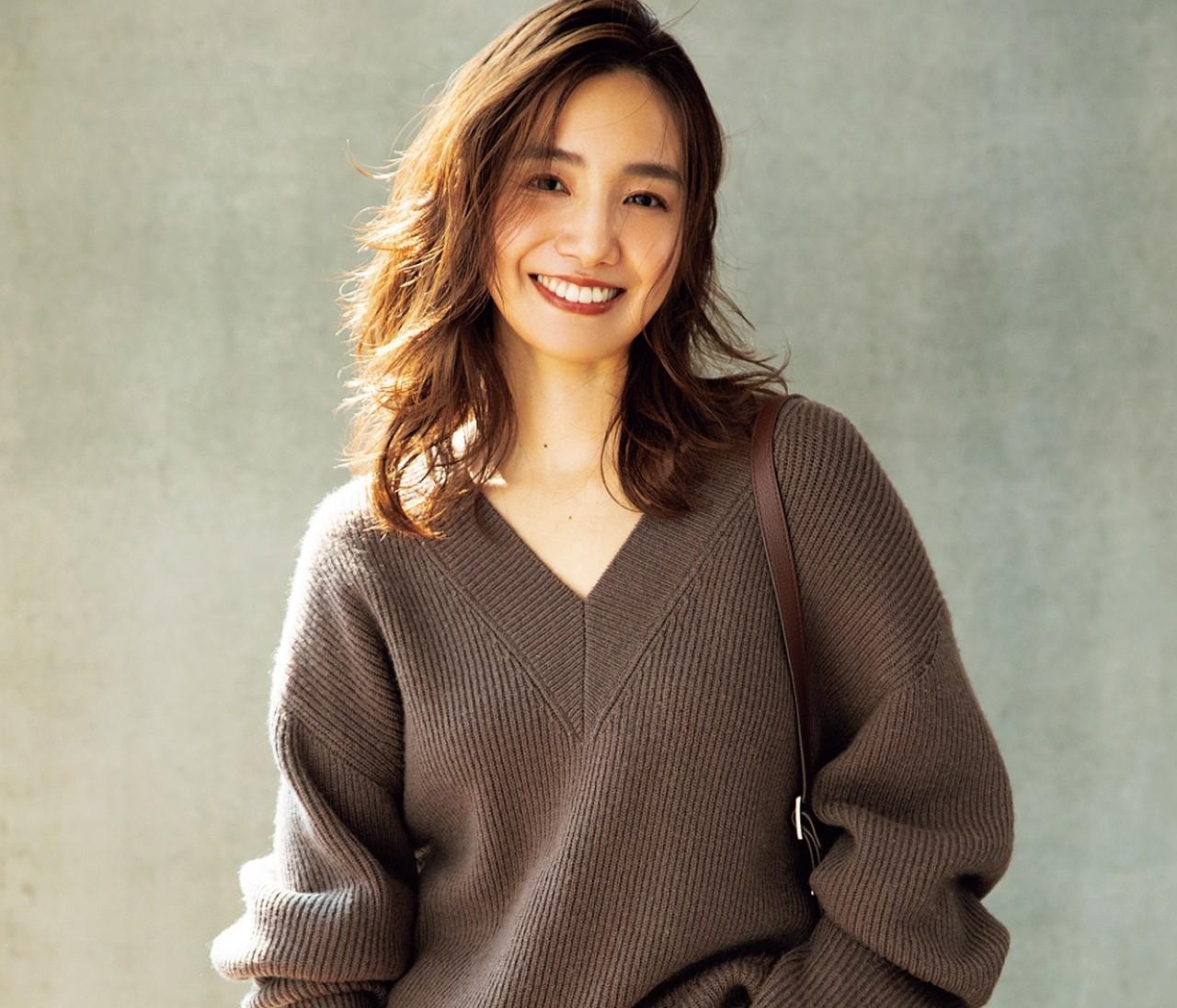 【おしゃれプロのブラウン選び】フレイ アイディープレス・三谷麗子さんの最新秋コーデが素敵すぎる!