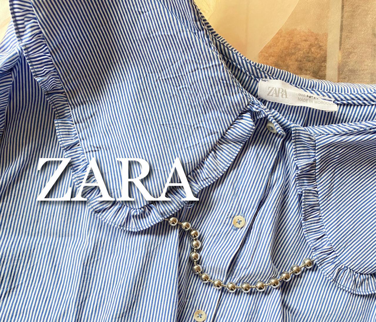 """【ZARA】saleでゲット!トレンドの""""ビッグカラーブラウス"""""""