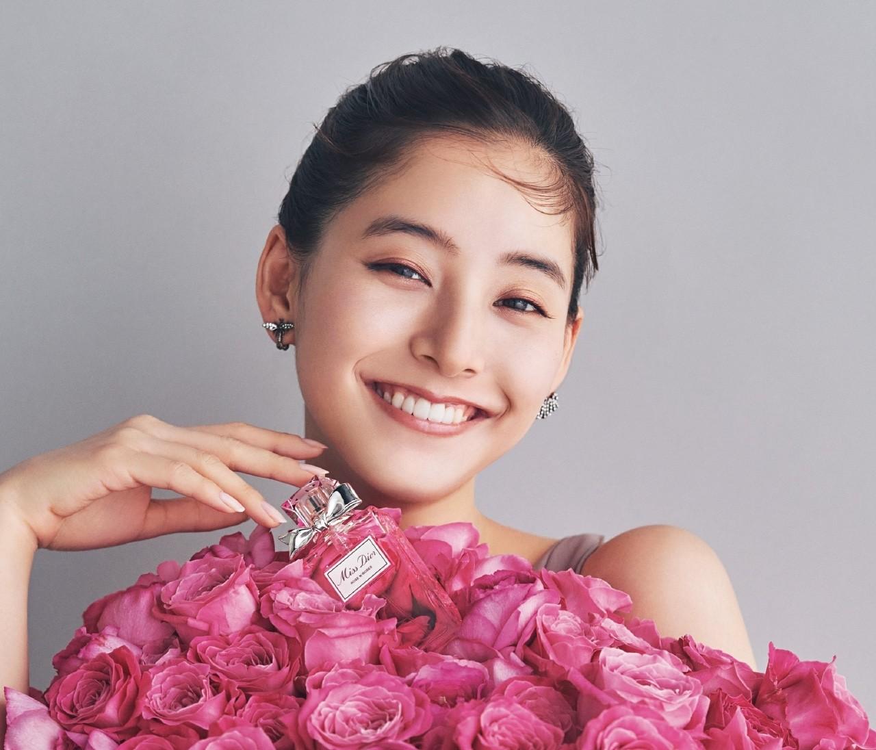 【Miss Dior】一面にバラが咲き誇る幸せの香り【新木優子×ミス ディオール ローズ&ローズ】