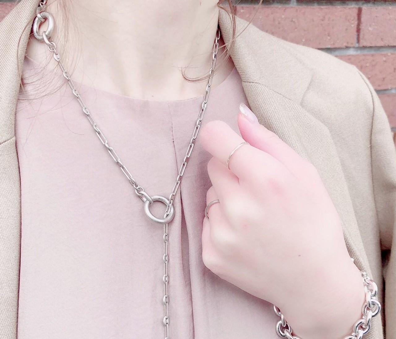【BAILA 2月号】お気に入りネックレスで着やせ効果♡