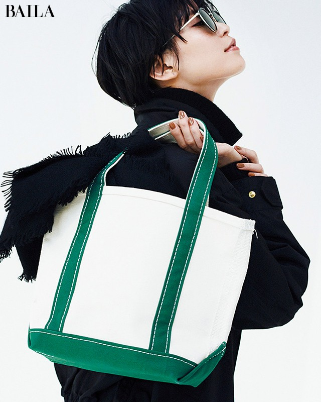 BLACK×グリーン小物-3
