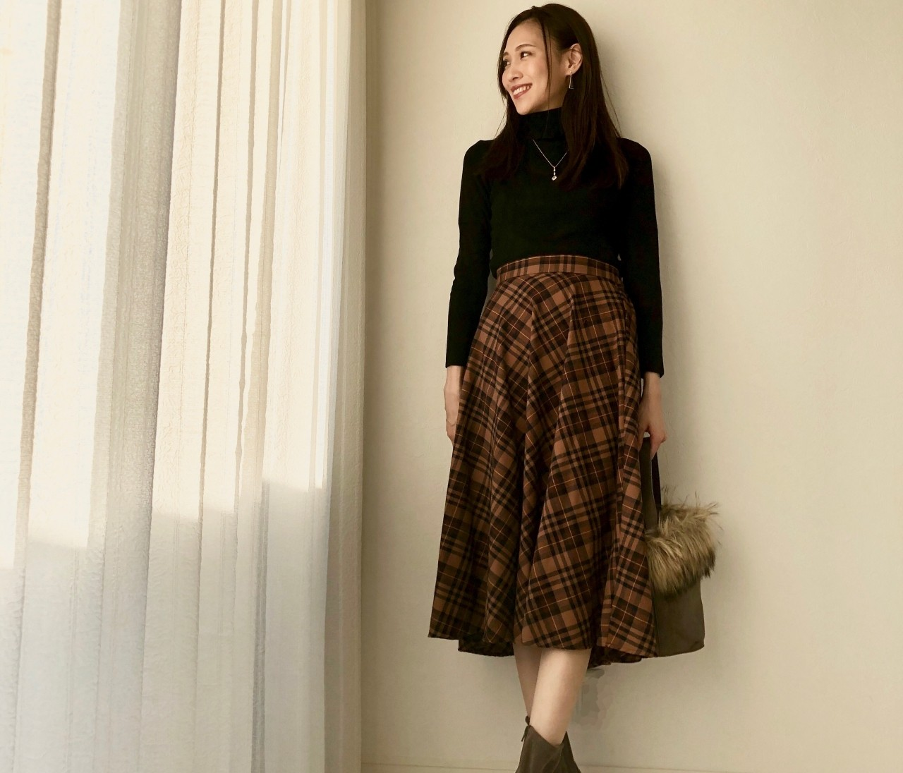 """プチプラで""""この秋使えるカラー""""コーデ【BAILA11月号】"""