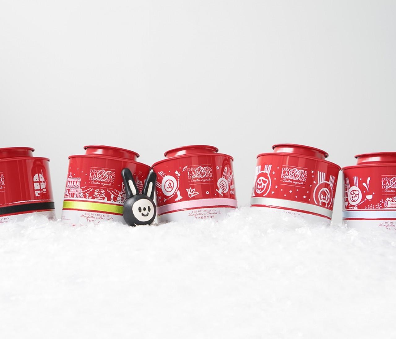 イケメンコラボ♡ 心温まる紅茶のクリスマス限定ギフト