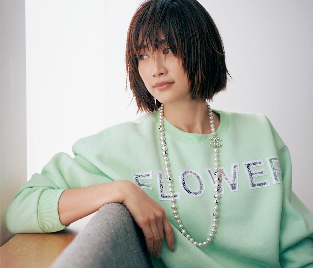 【ヨンアの私物ジュエリー公開】シャネル、TASAKI、セリーヌ…パールはカジュアルに!