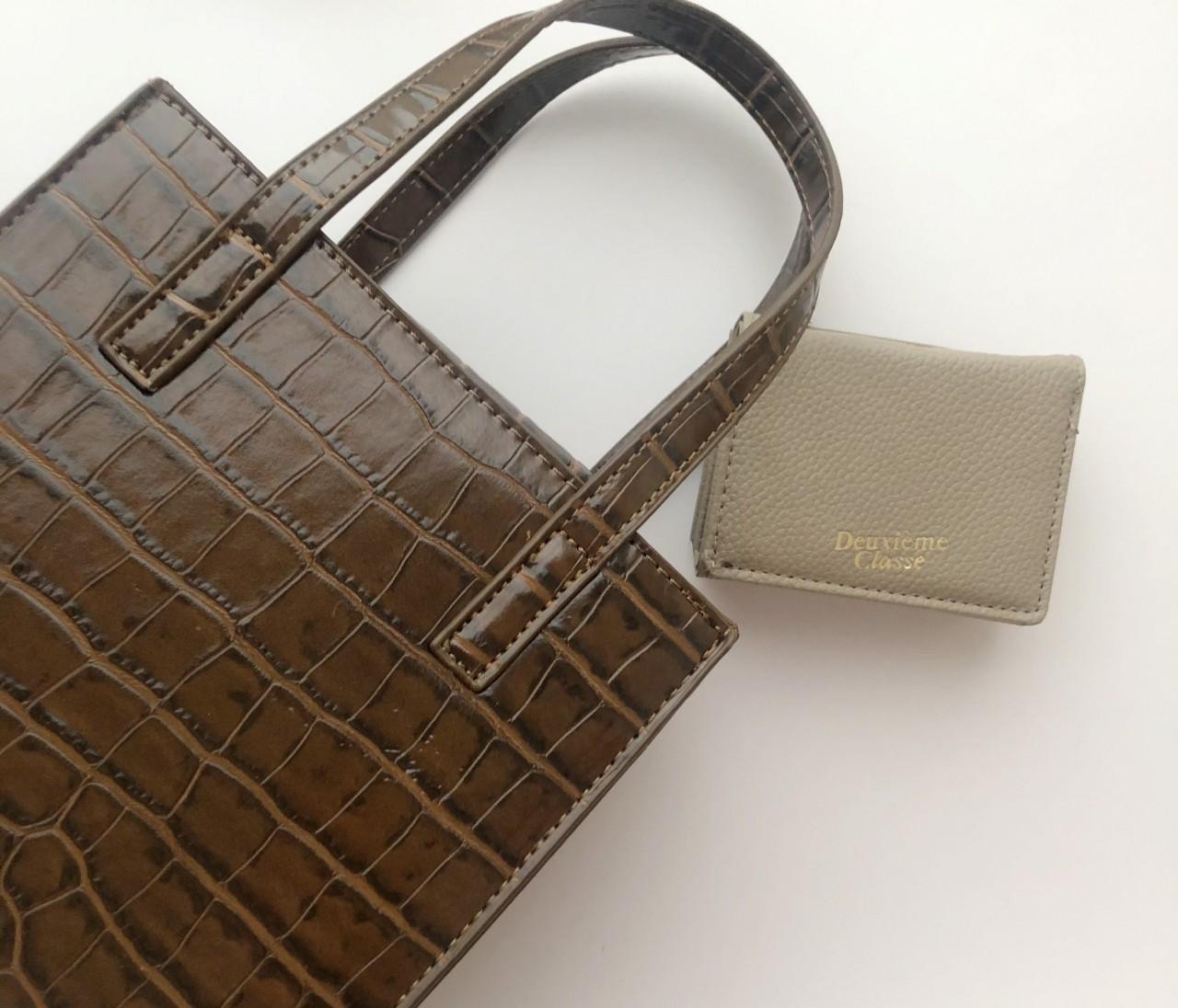 BAILA4月号 大人気ブランドのミニ財布が使いやすくて◎