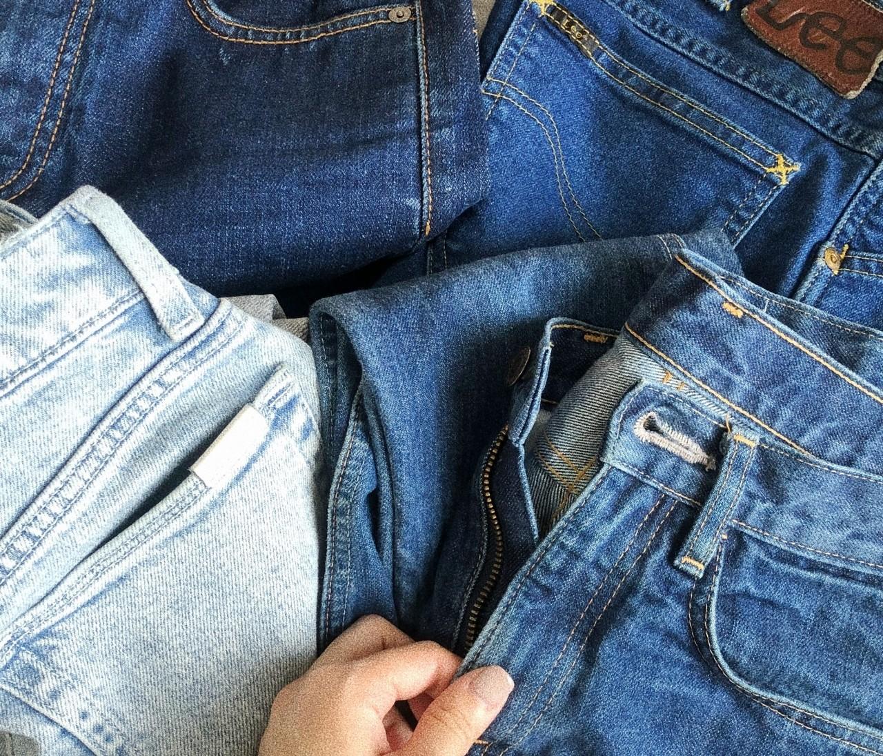 大切に穿き続けたいジーンズの洗濯方法