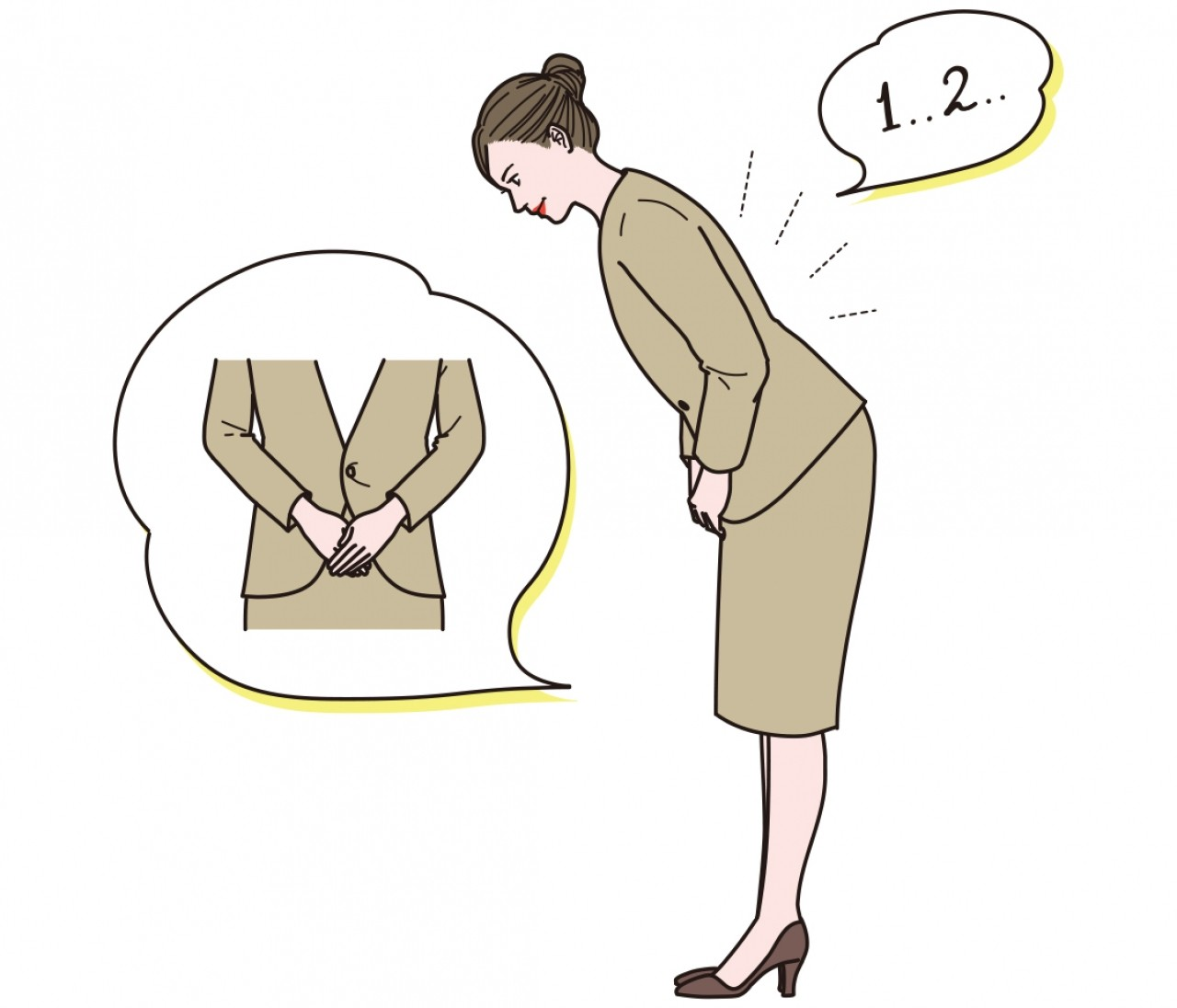 正しいお辞儀や仕事でのコミュニケーションマナー【意外と知らないビジネスマナー⑤】