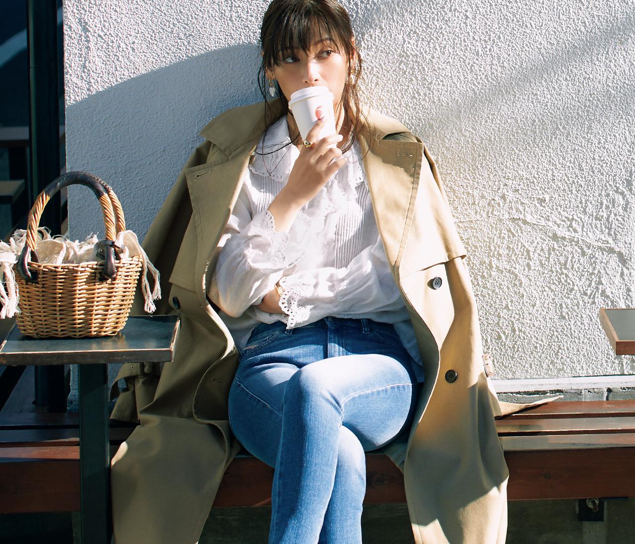 【2021春トップス】「甘めブラウス」を30代が楽しむには?糖度の調節はこう!