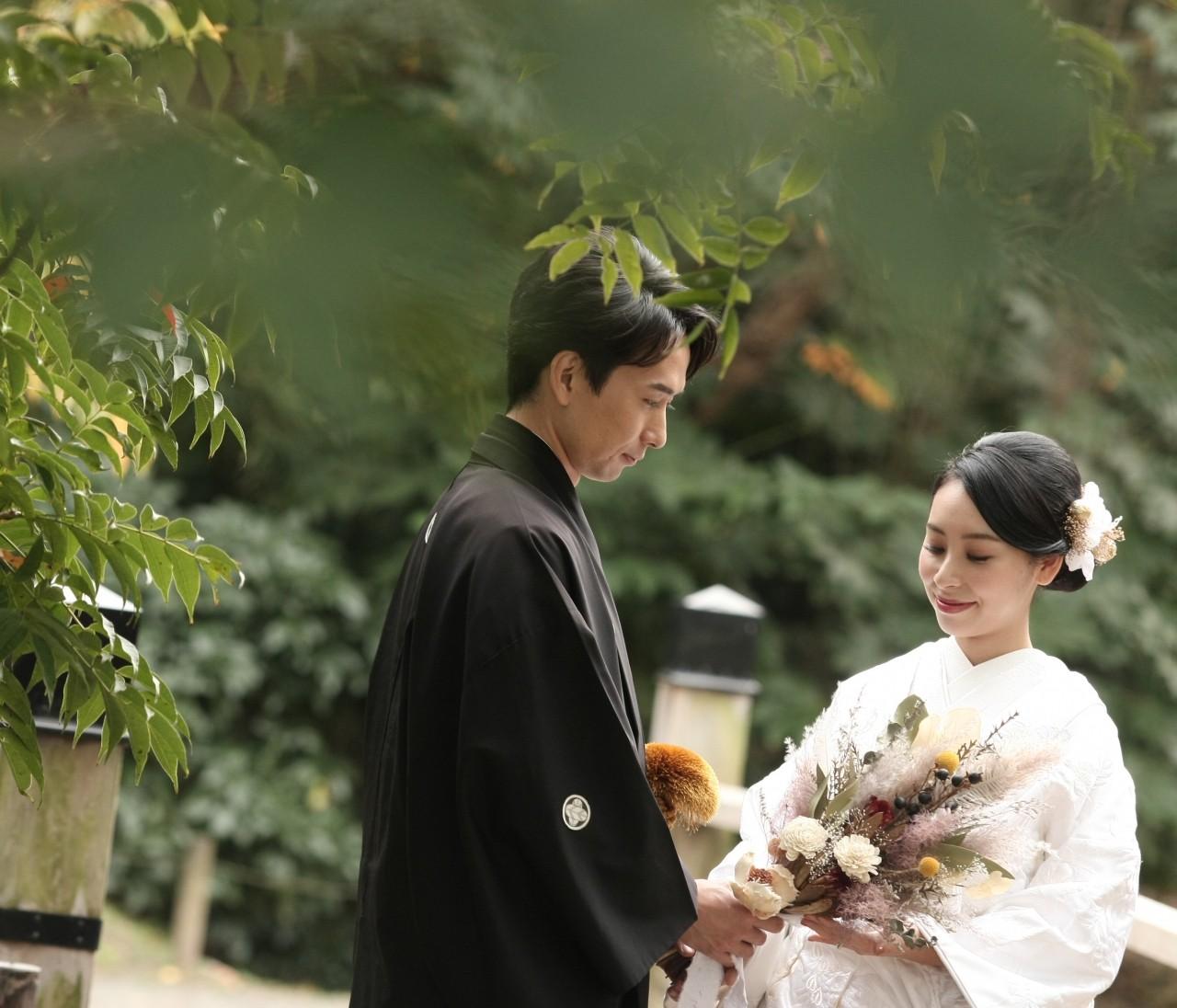 【wedding】和装前撮りレポ〜都内ロケーションフォト〜