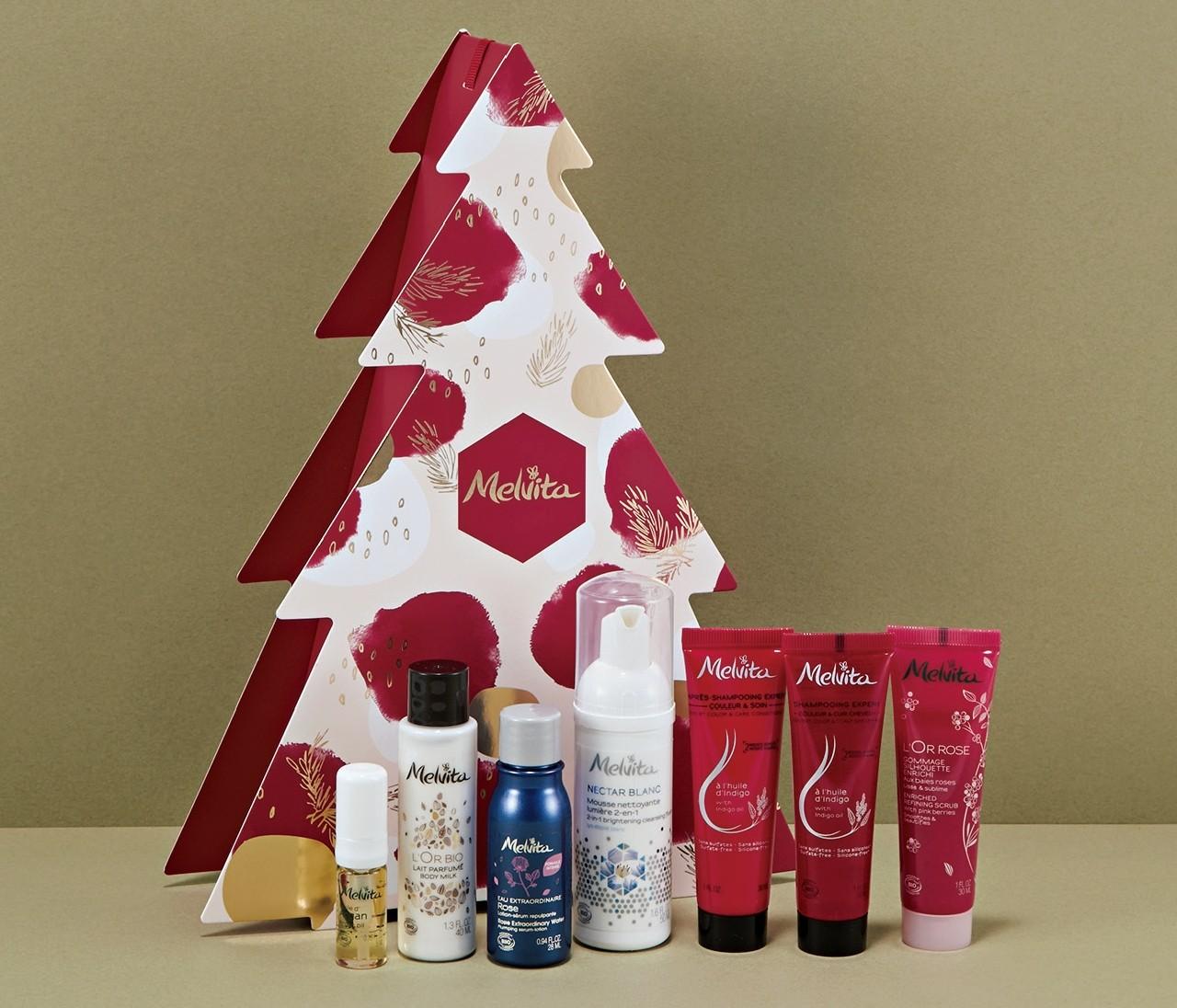 【クリスマスコフレ】メルヴィータジャポンはホリデー気分を盛り上げるツリーパッケージ♪