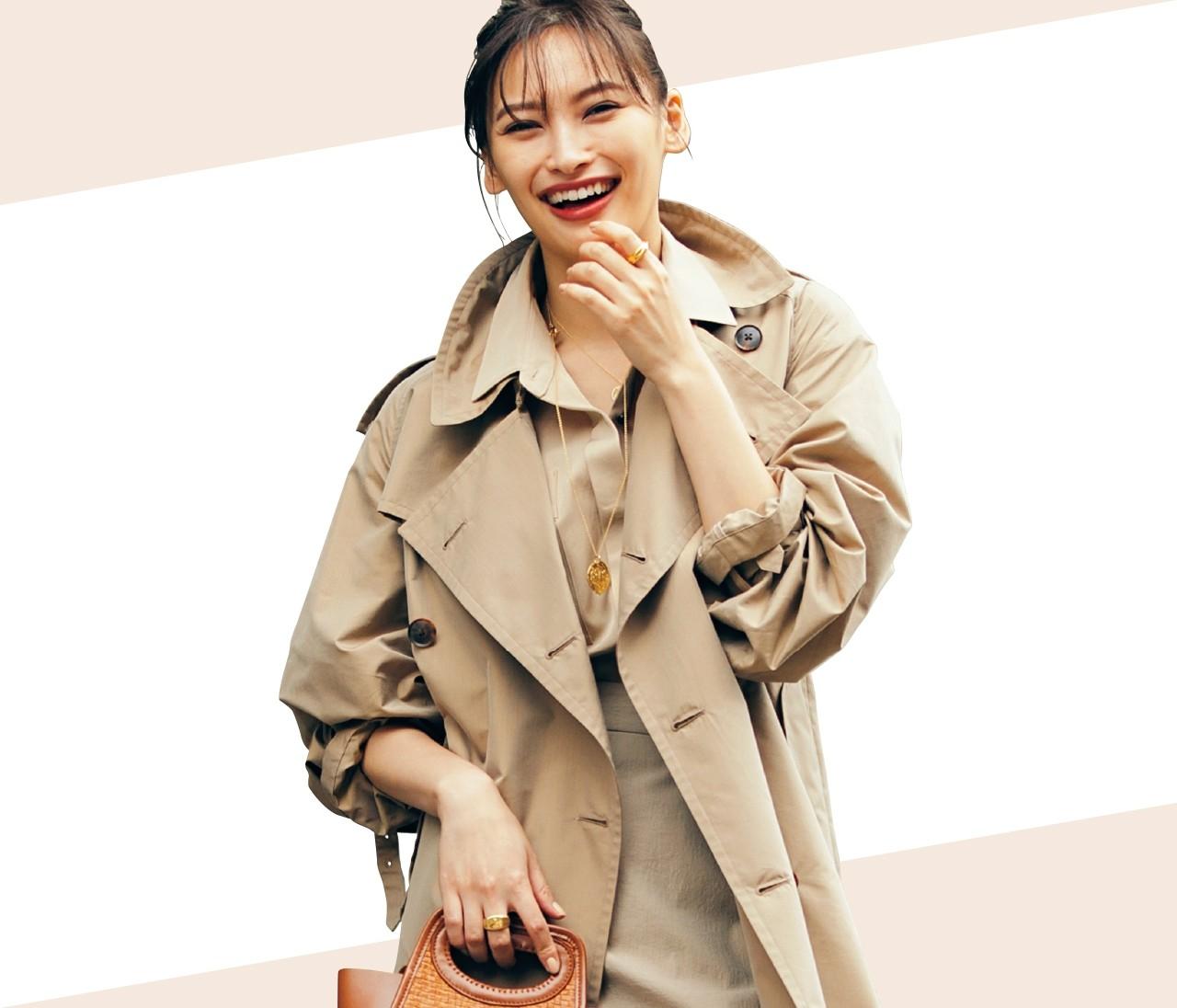 30代ファッション、この春のあか抜けカラーは「ベージュ」に決定!