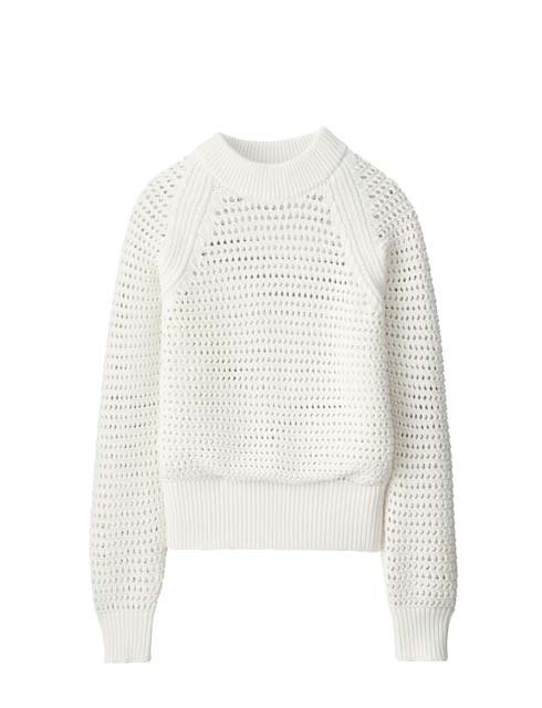 メッシュオーバーサイズセーター(長袖)