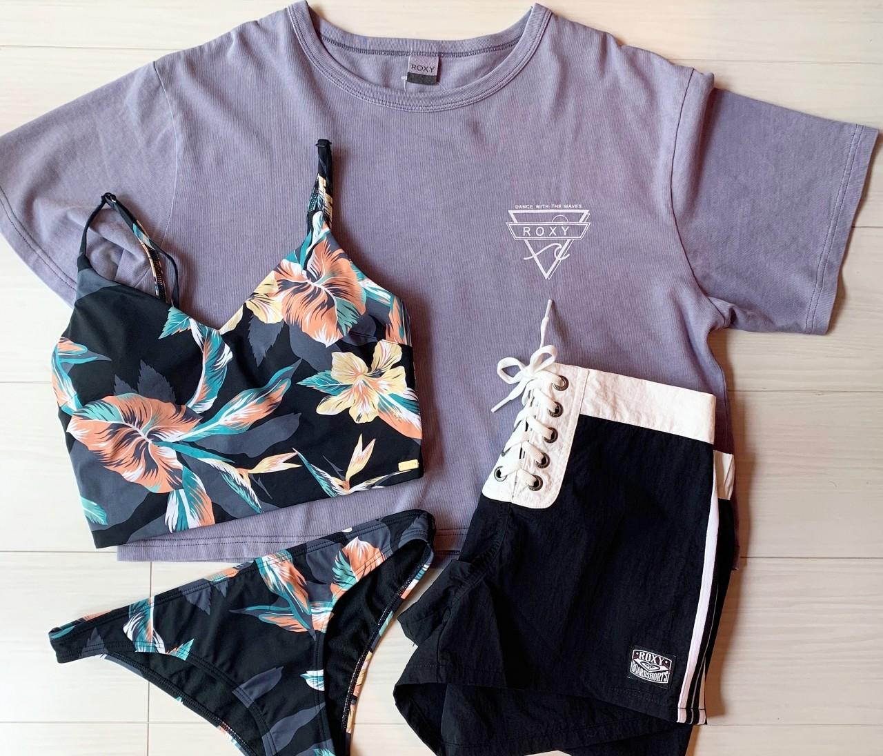 《セール戦利品》ROXYの水着は可愛いだけじゃない!ママさんにもお勧めしたい理由。