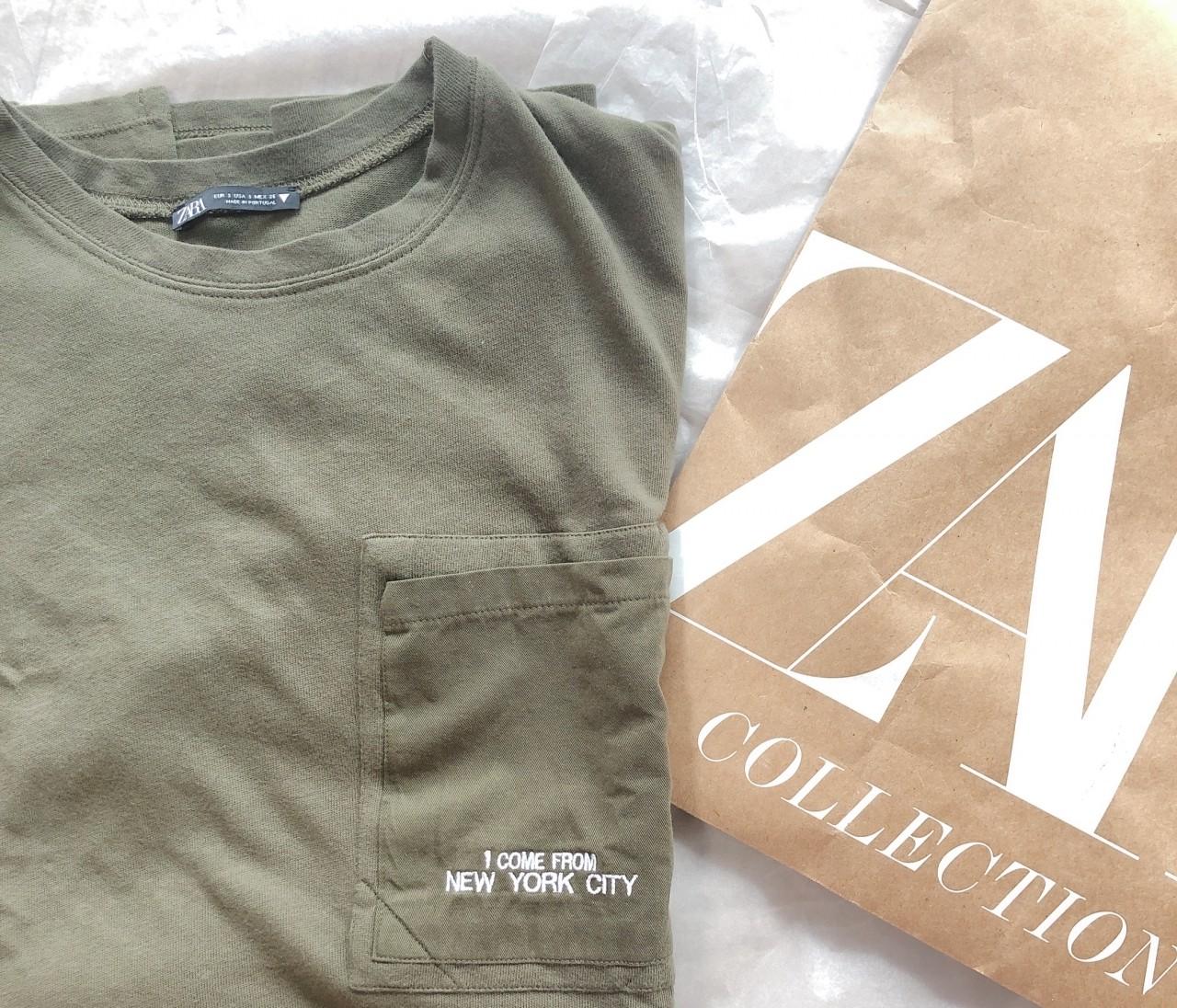 《ZARA online sale》でお得にget♡おうち時間のTシャツワンピ