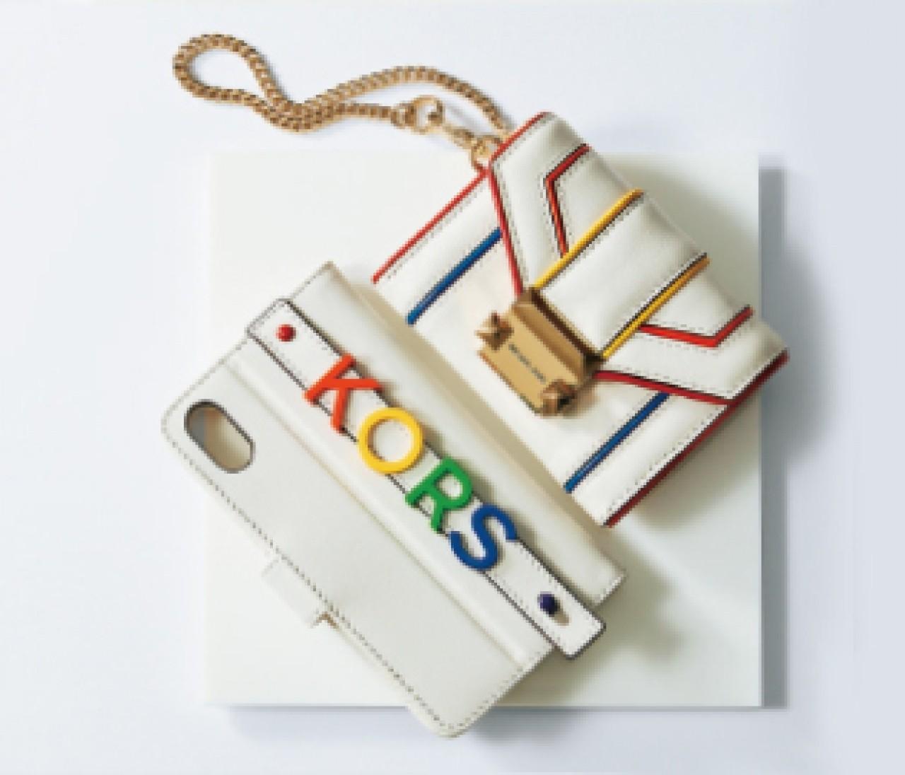 【MICHAEL MICHAEL KORS】キャッチーなデザインでわくわく感を! スモールレザーグッズ⑫