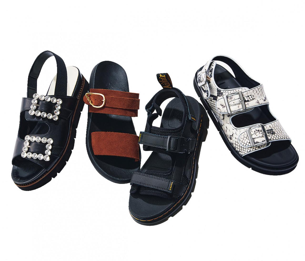 【人気の靴ブランドのスポーツサンダル5選】ピエール アルディ、ペリーコサニー、ダイアナ...大人っぽいデザインが続々登場!