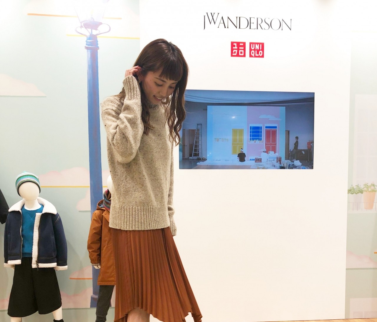 UNIQLO and JW ANDERSON2020年秋冬