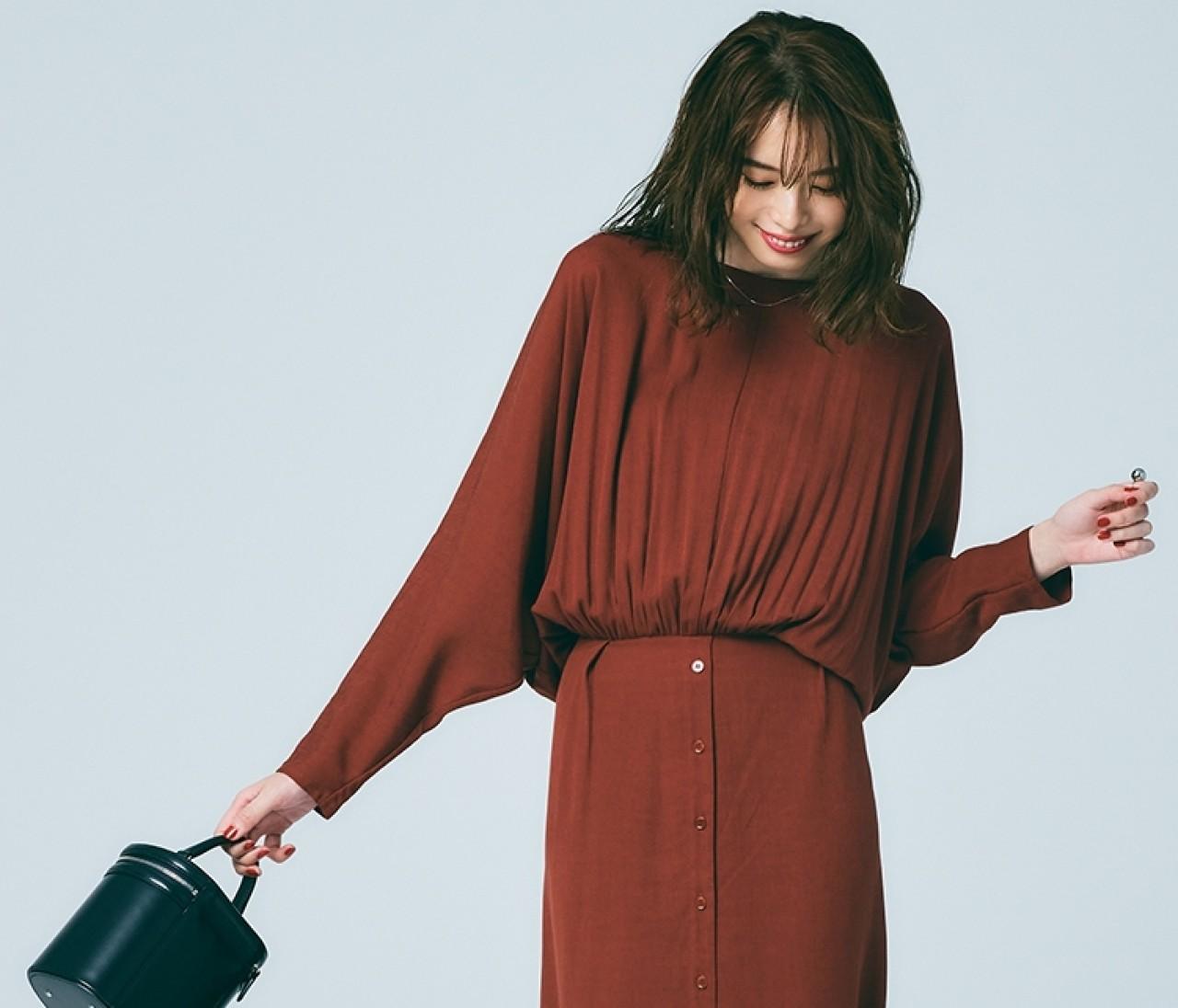 クラシックワンピを今っぽく着る3つのアイディア【冬ワンピースの楽しみ方1】