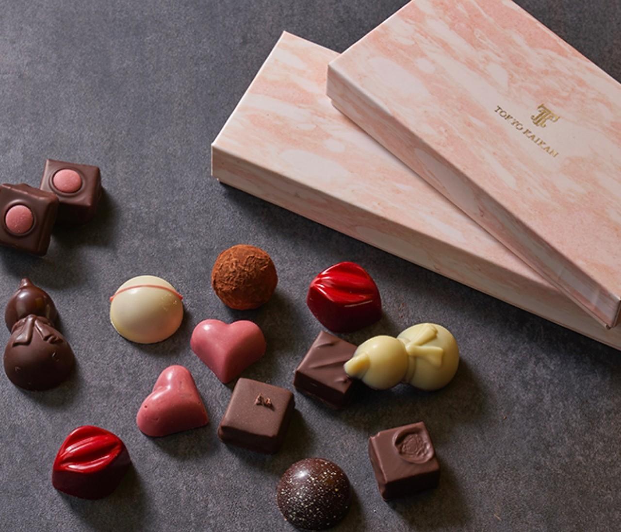 第4のチョコレートを堪能! 東京會舘のバレンタイン限定ショコラ