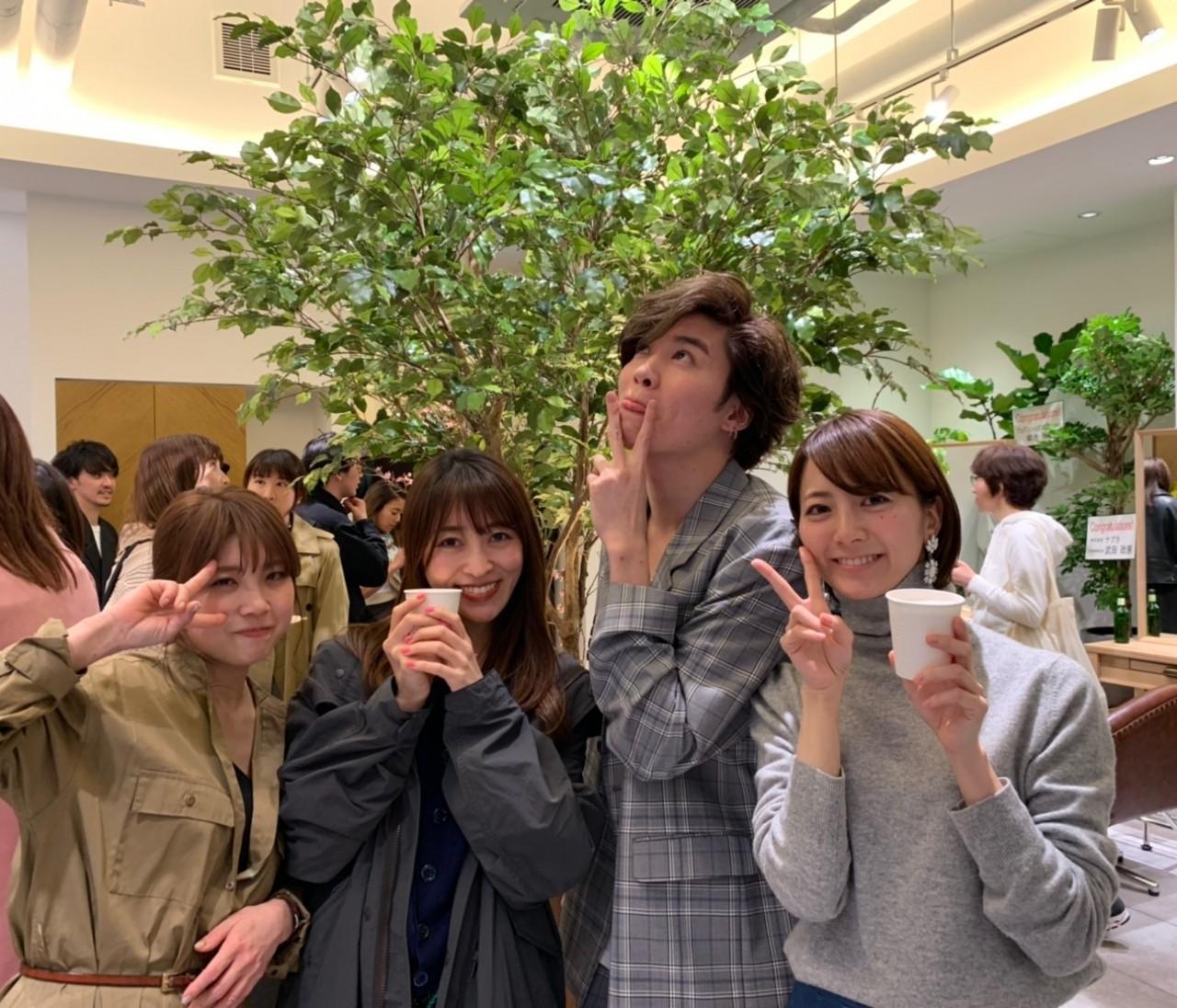Loness Ginza オープニングパーティ!
