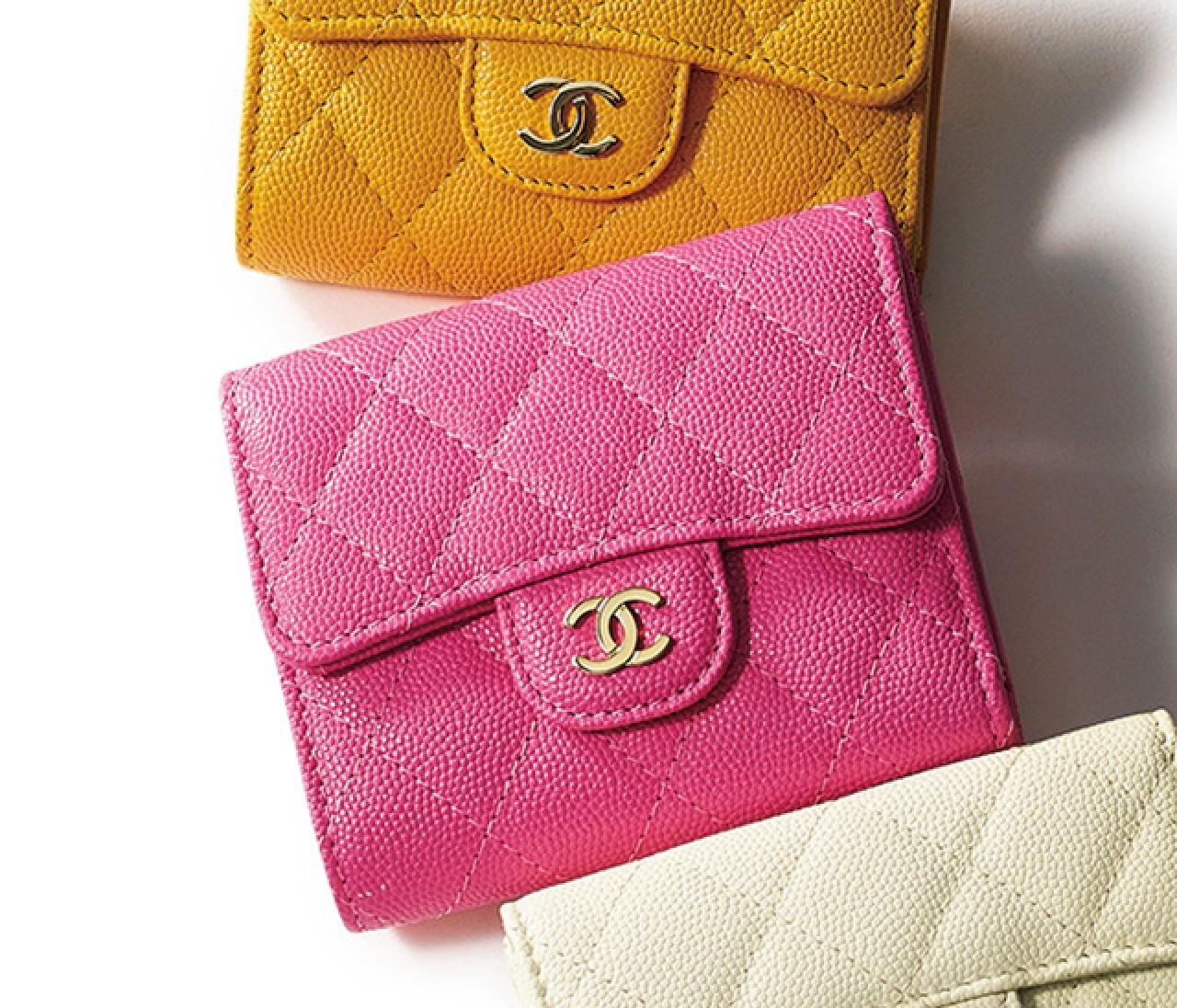手にするたび気分がアガる【シャネル(CHANEL)】の新作バッグ&財布♡