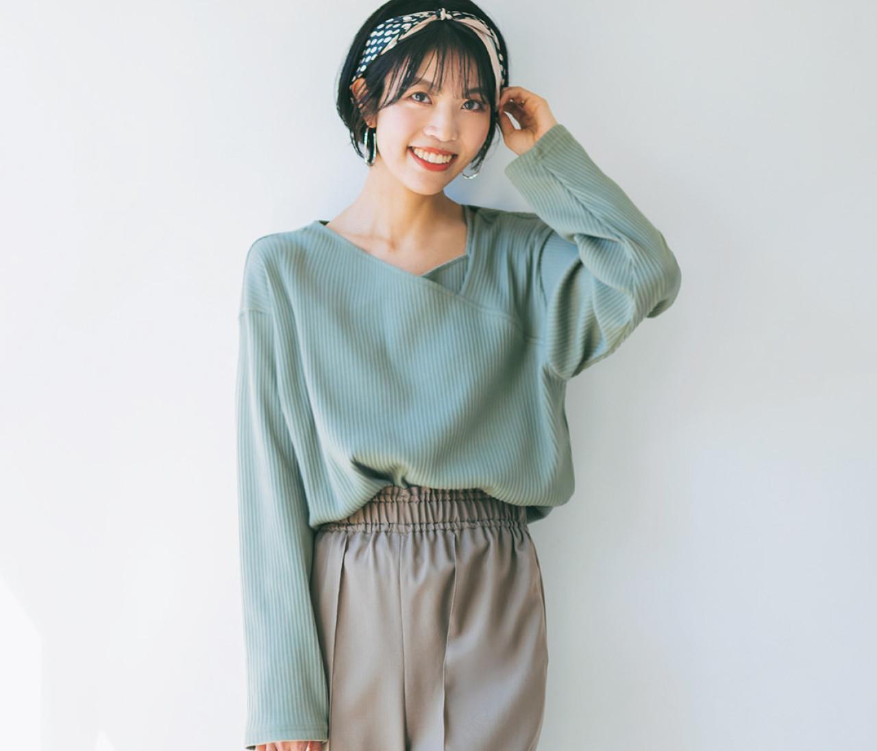 パンツ好きで似たようなタイプばかり買ってしまう私。マンネリを解消してくれる春の最新パンツは?【似合うワードローブ診断2】