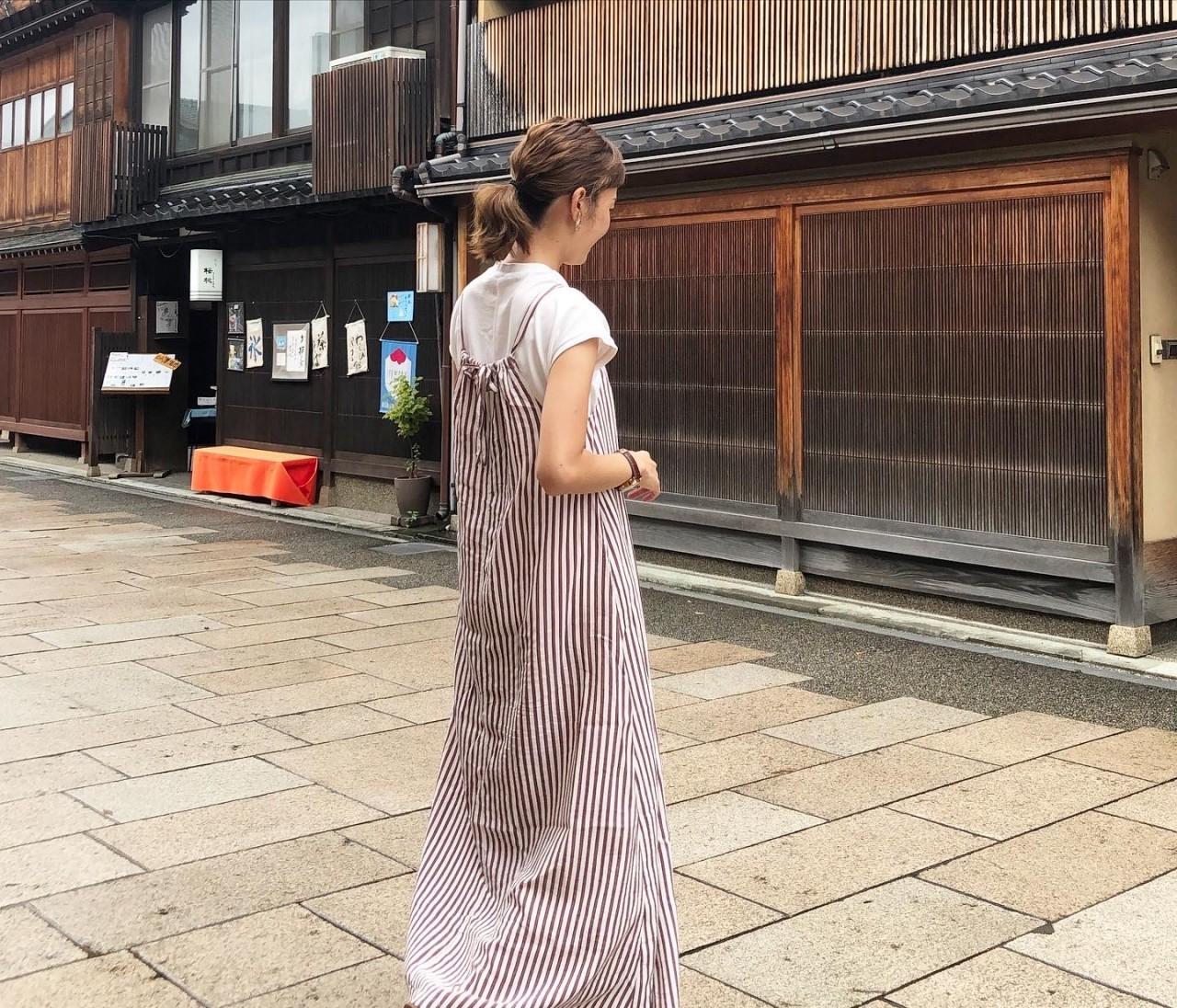 理想の丈の「2wayマキシワンピース」作りに初挑戦!