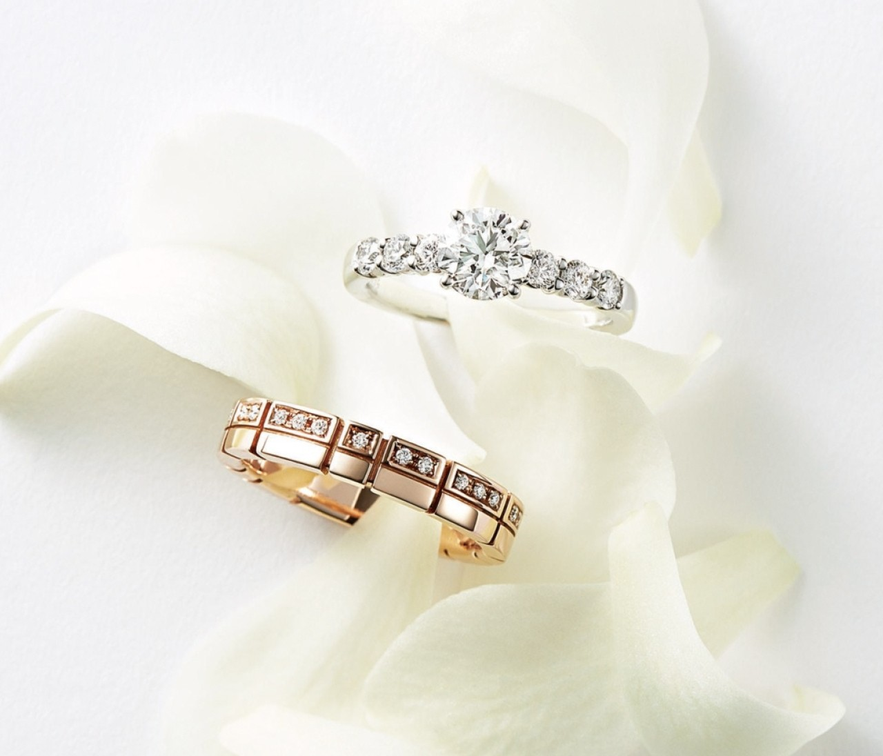 【タサキの結婚指輪&婚約指輪】クラシックからモダンまで多彩なデザイン