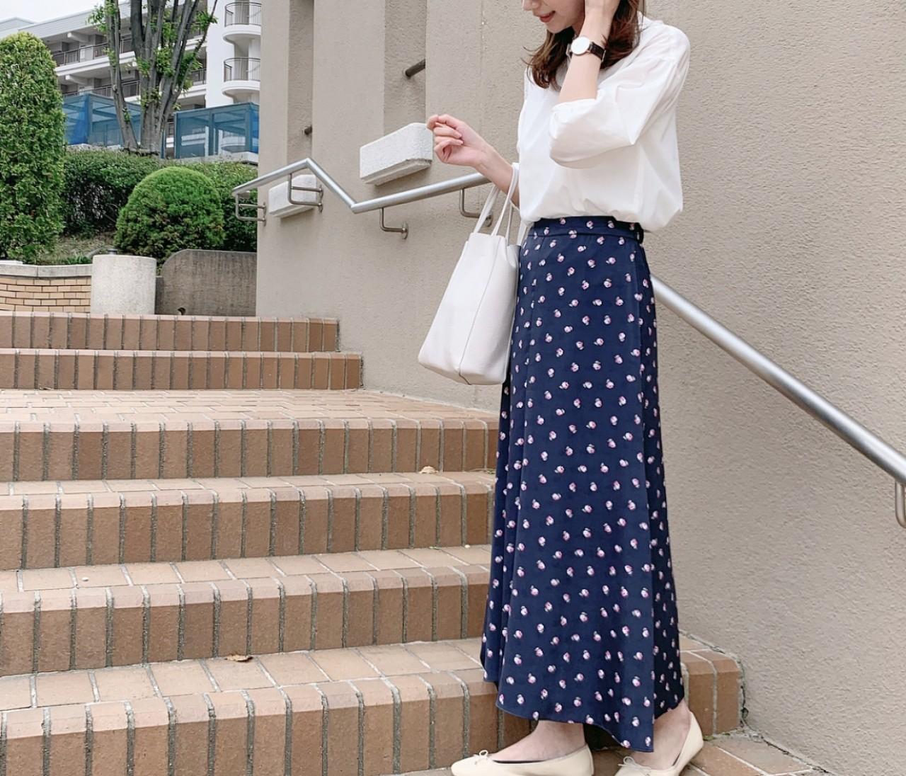 【COEL】お気に入り花柄スカート♡