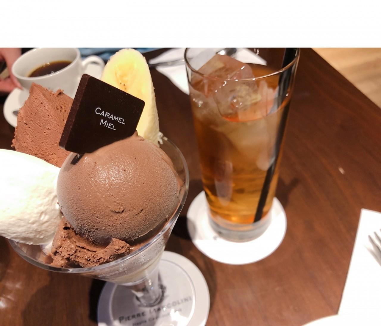 バレンタイン目前♡チョコレート専門店でチョコレートパフェを♪