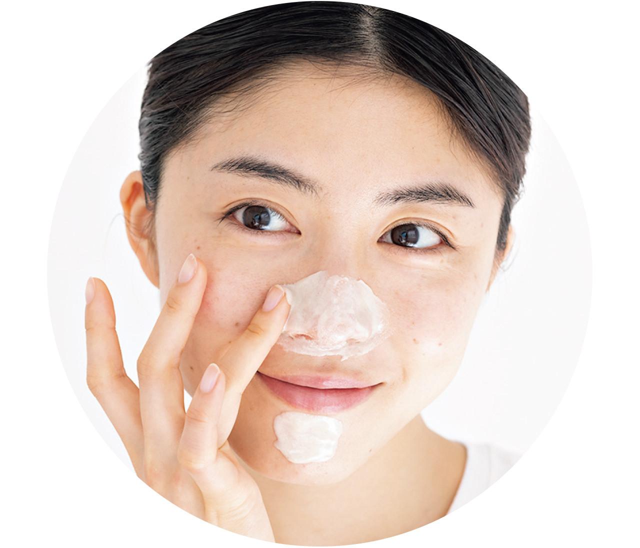 【毛穴ケア】鼻の詰まり毛穴「白いプツプツ」は温感&クレイで吸着!