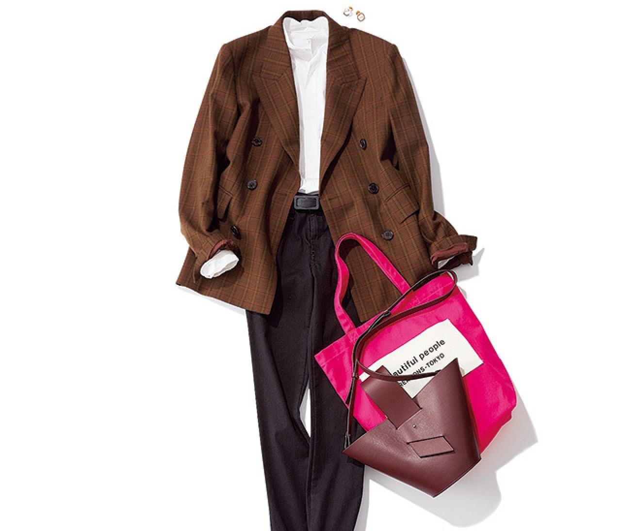 忙しい月曜は、程よく力が抜けたジャケットスタイルが断然素敵!