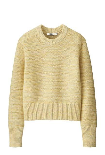 カラーミックスオーバーサイズセーター(長袖)