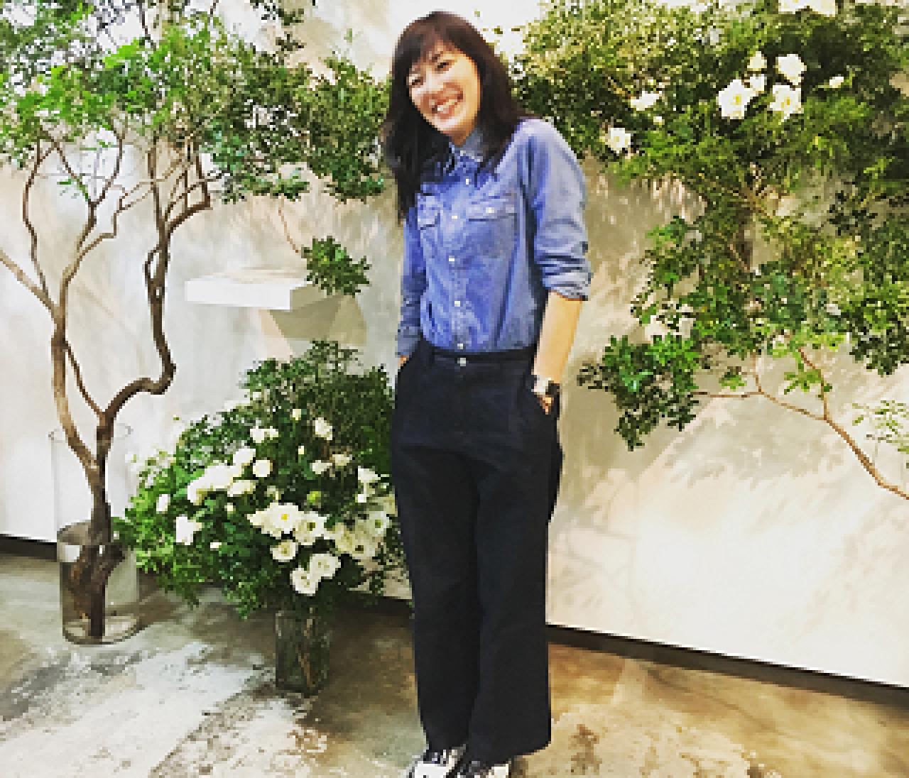 【SINME】板谷由夏さんのデニムブランドがブレイク必至!