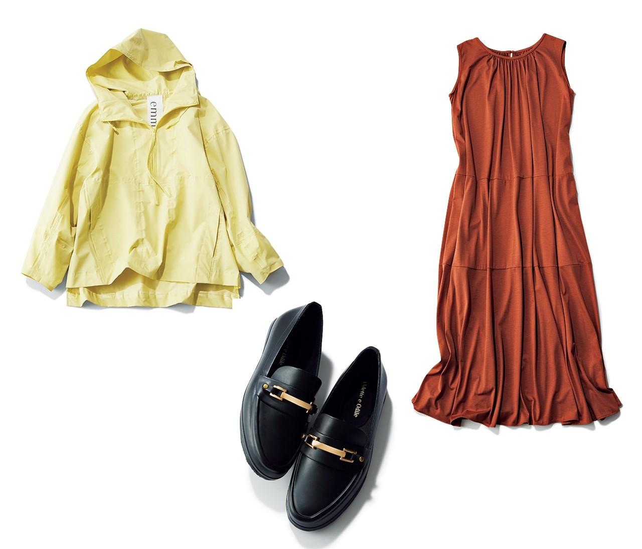 【晴雨兼用アイテム14選】アウターやバッグ&靴etc.優秀アイテムを一気見!