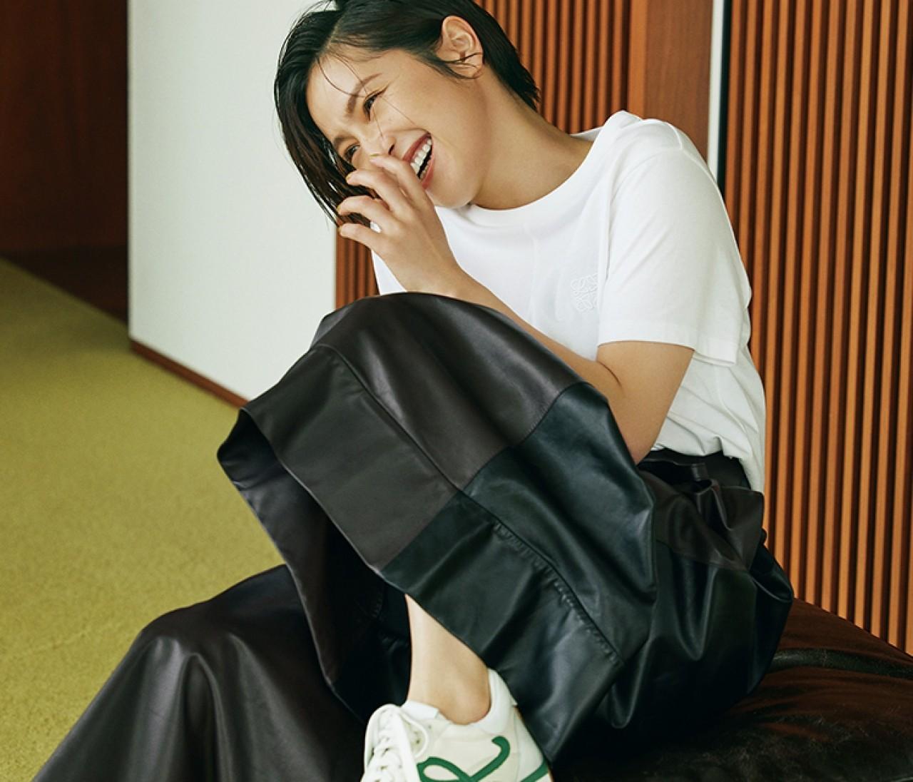 【ロエベ】スニーカー「フロー ランナー」はレトロな雰囲気が新鮮!