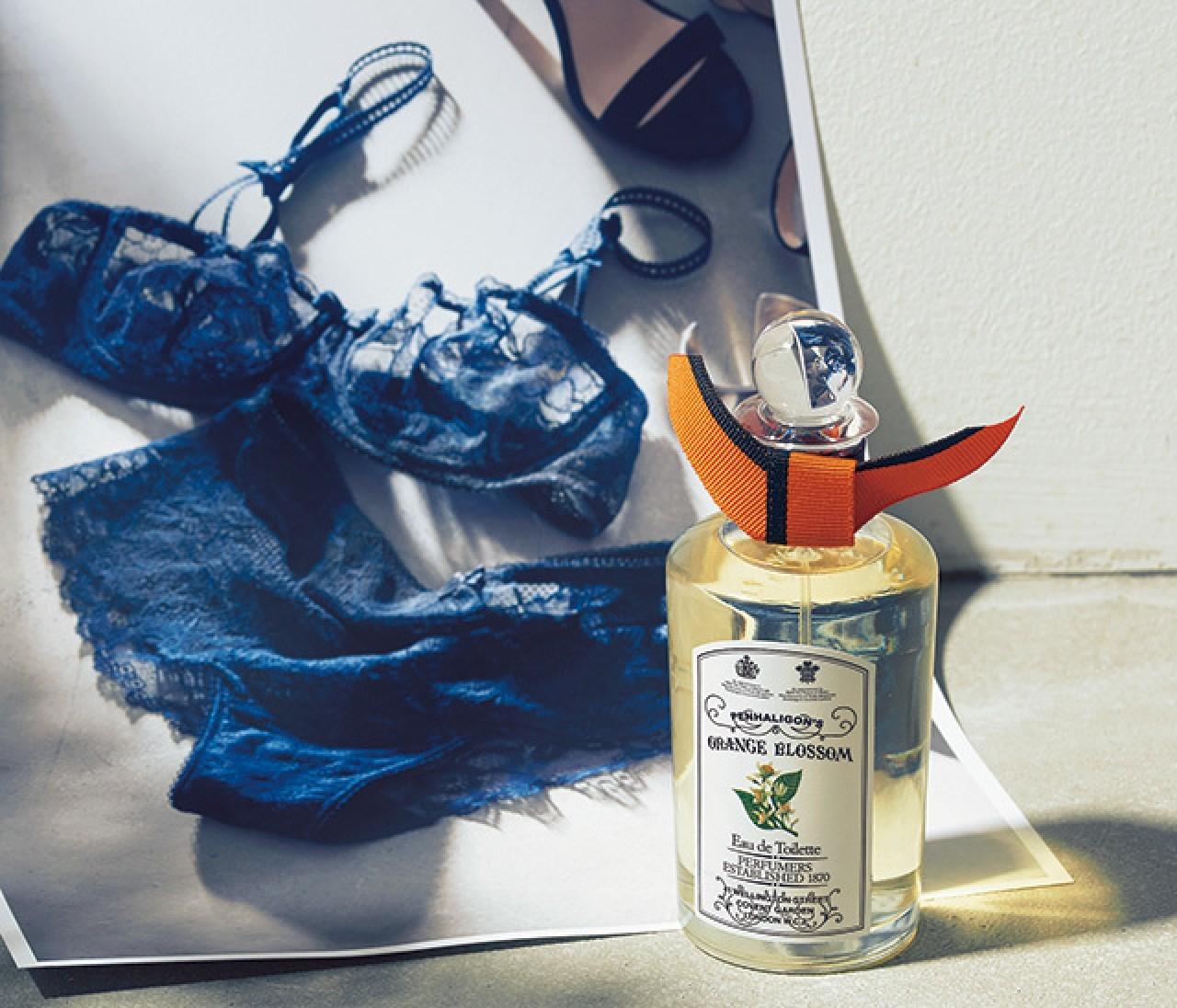 香水とランジェリーで描く、素敵な女たち①