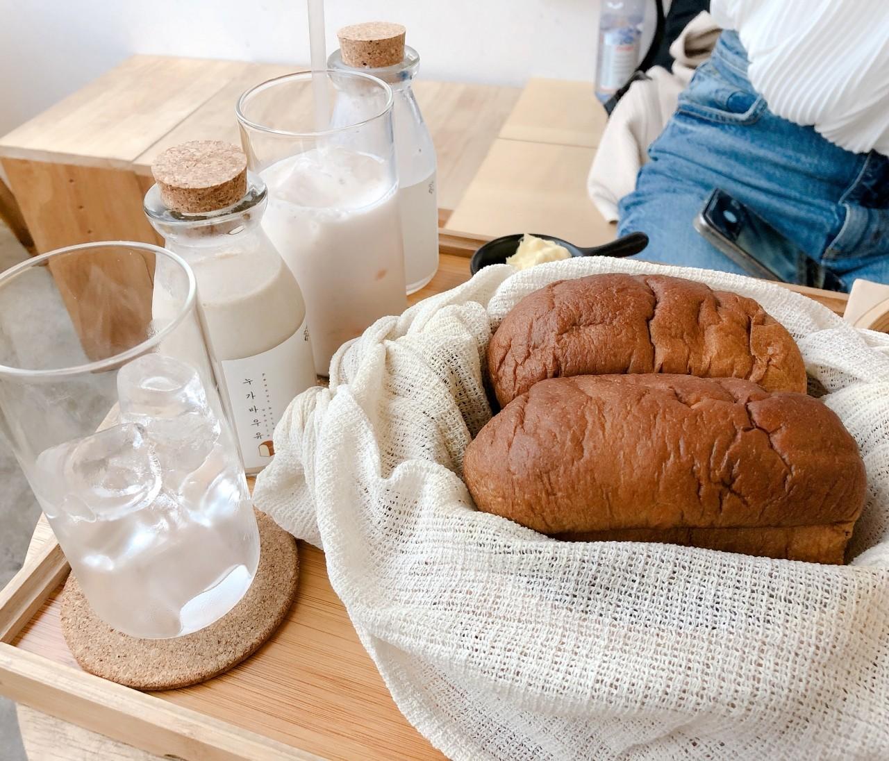 美味しいパン屋さん..♡