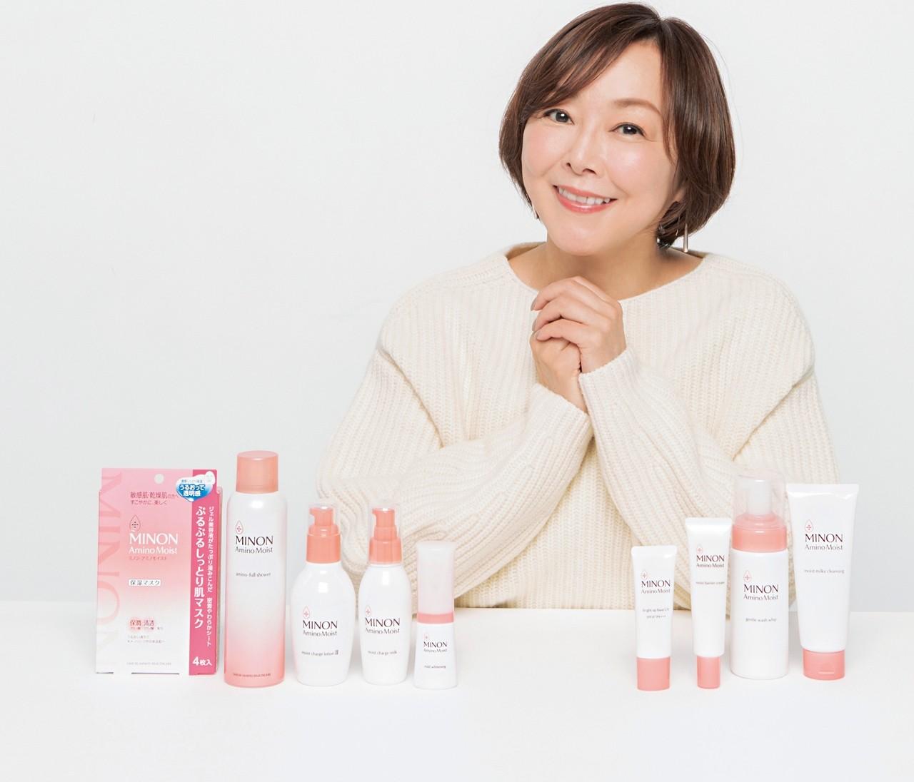 敏感肌の美肌センパイ小田ユイコさんが語る「スゴイぞ!ミノンアミノモイスト」