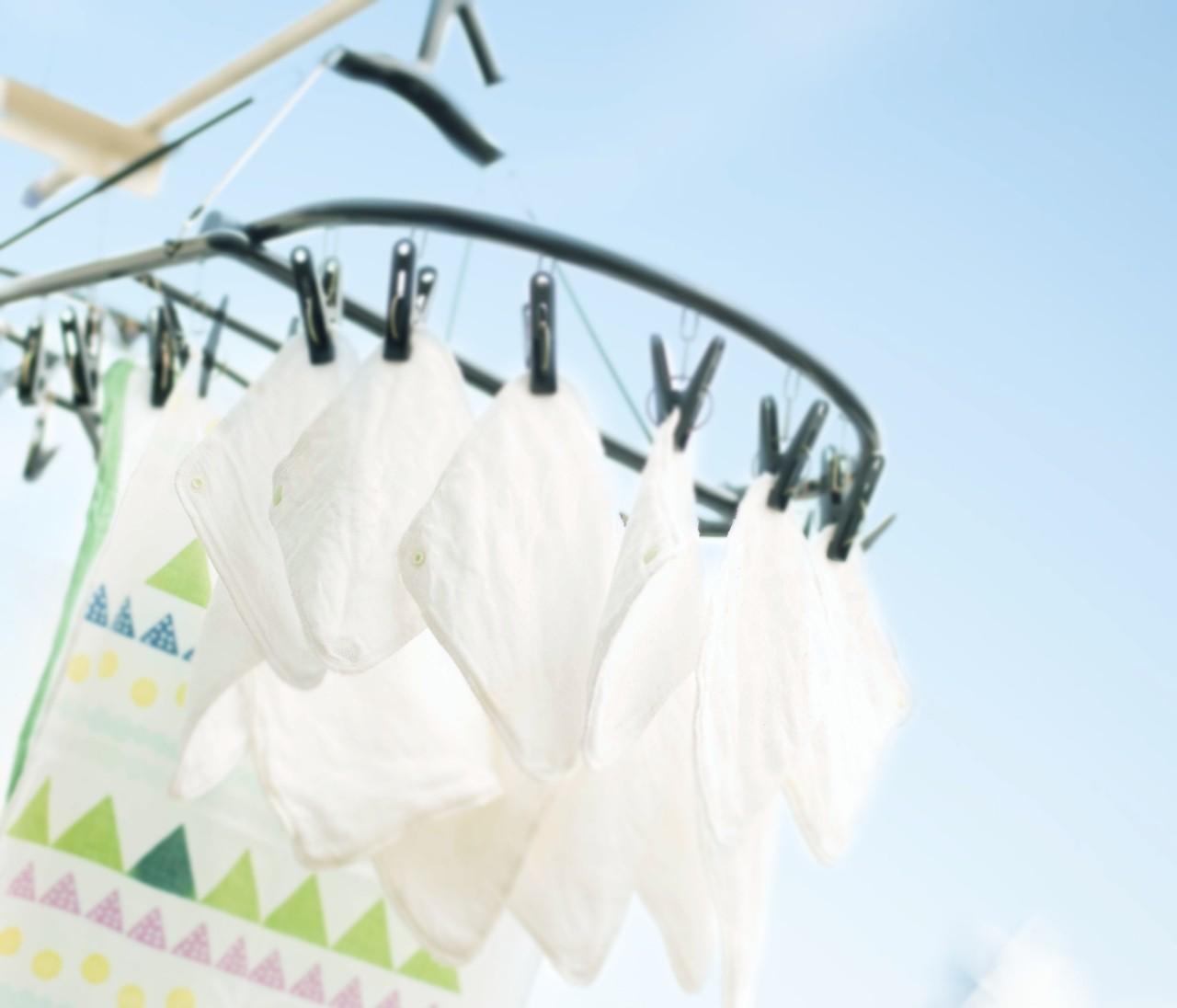 話題の「布ナプキン」体験【2】洗濯、どうしてるの?