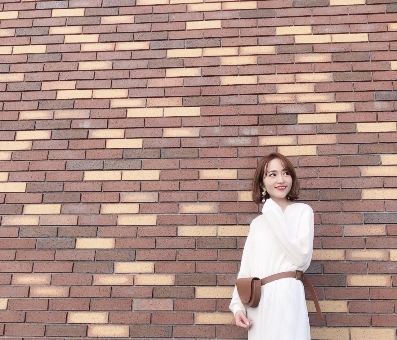 【BAILA 6月号】ワンピース×フラット靴で大人の可愛げMAX コーデ♡