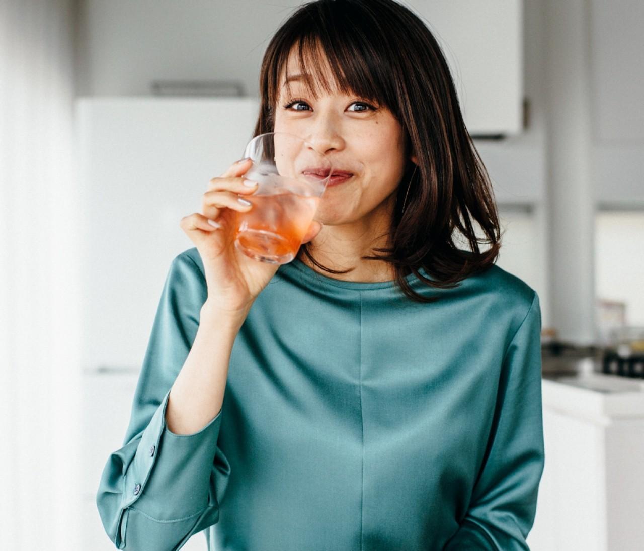 カトパン=加藤綾子さんも感動したいちごウォーターレシピ【カトパンの週末ふるまいごはん】