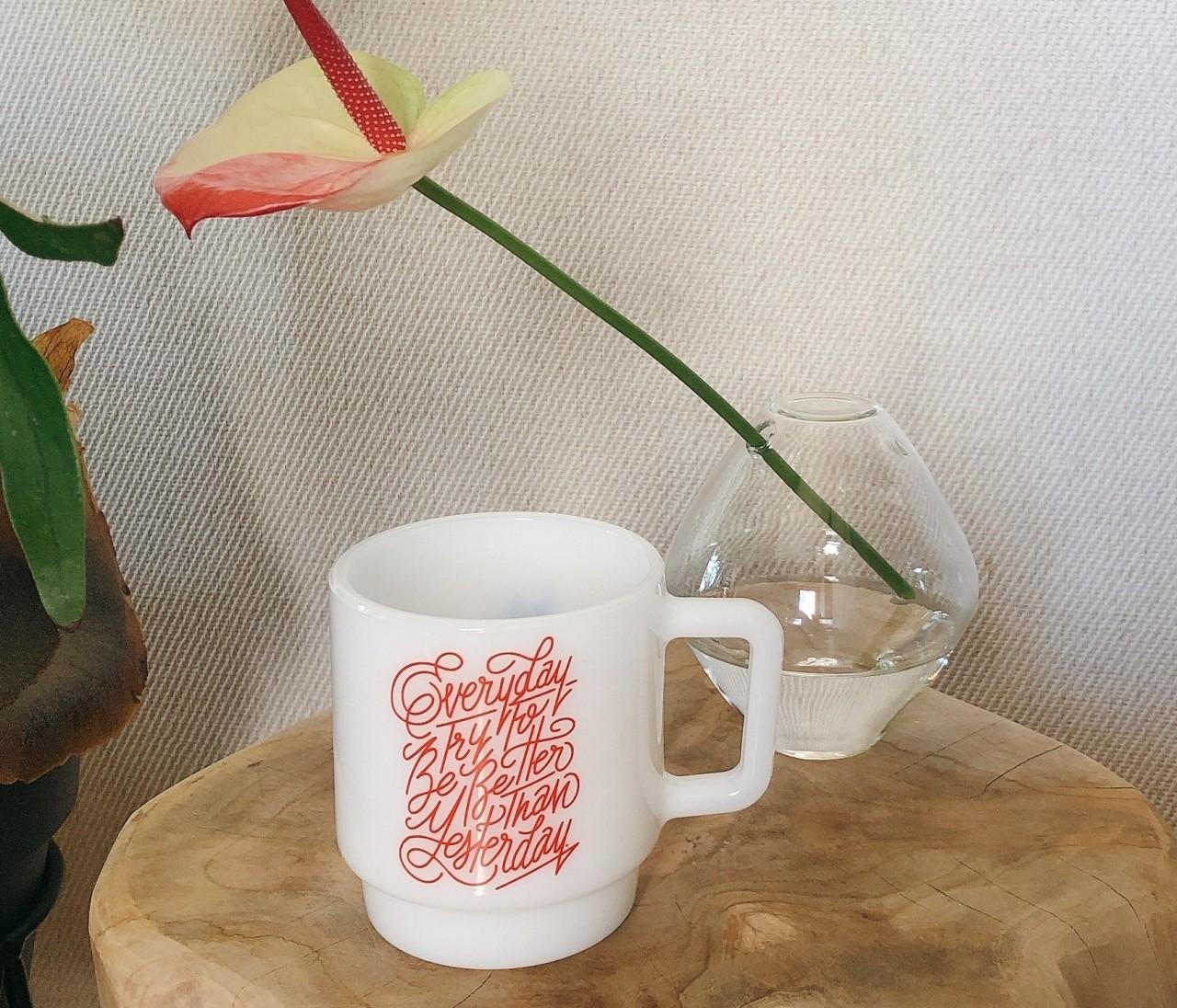 これで白湯を飲む女になる(なりたい)。Shogo Sekineさんのミルクマグ【30代に幸せをくれるもの vol.56】