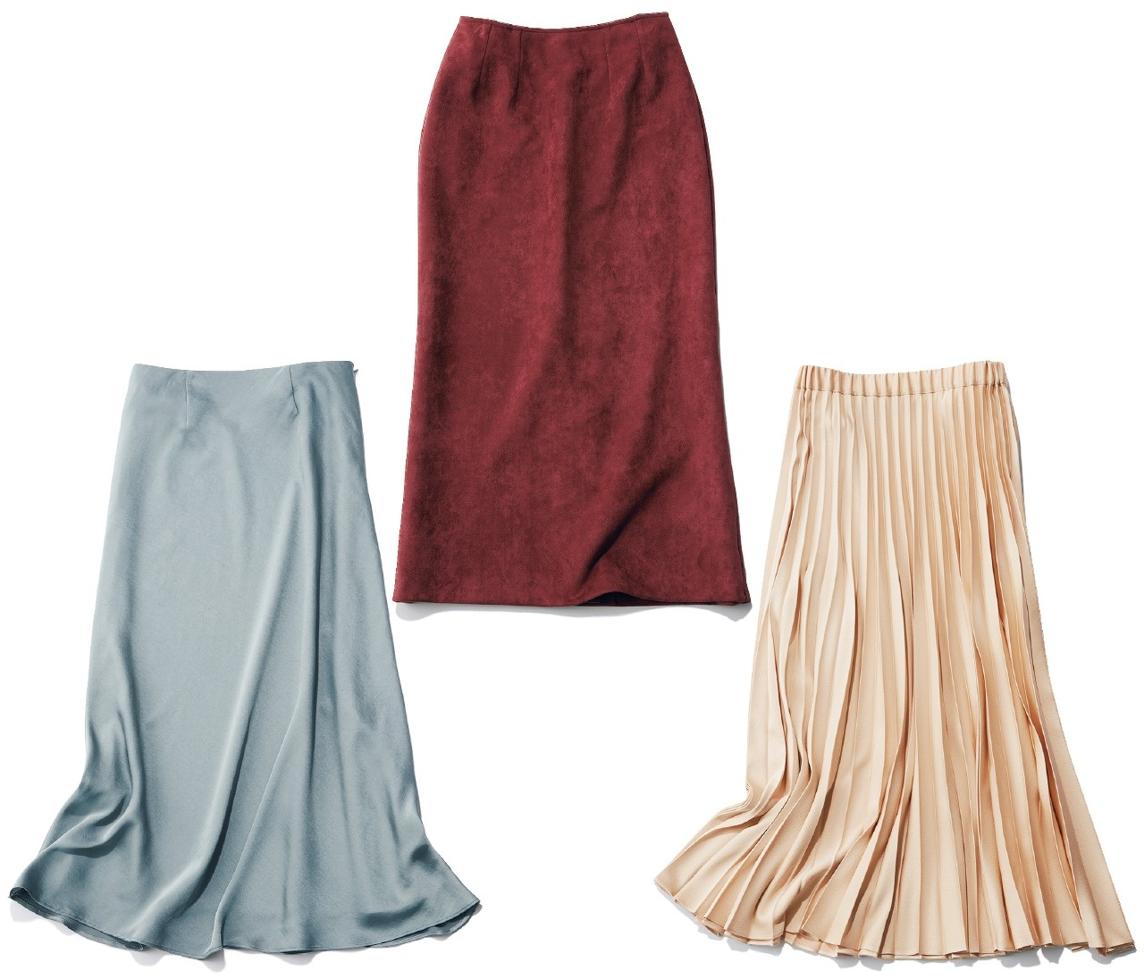 働く30代がこの秋オンオフ使える3本のスカート&ワードローブを一気見!【スカート派のハイブリッドOL着回し・クロゼット編】