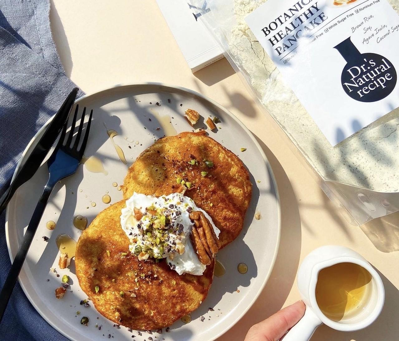 GWおうちじかんクッキング◎糖質35%カットのグルテンフリーパンケーキ