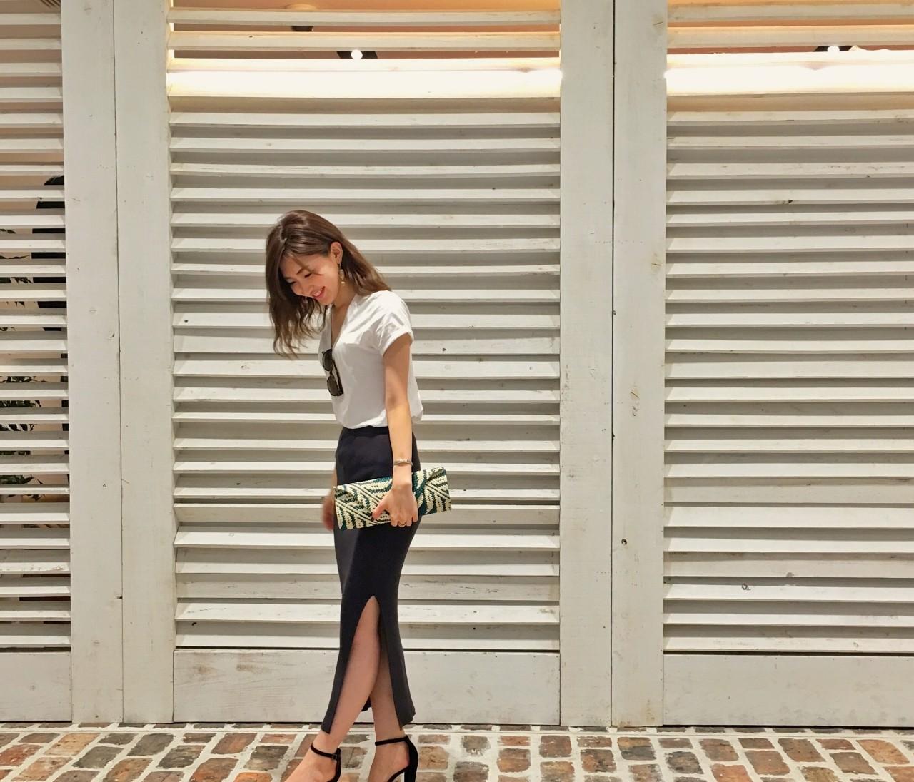 ★新しいリブタイトスカート