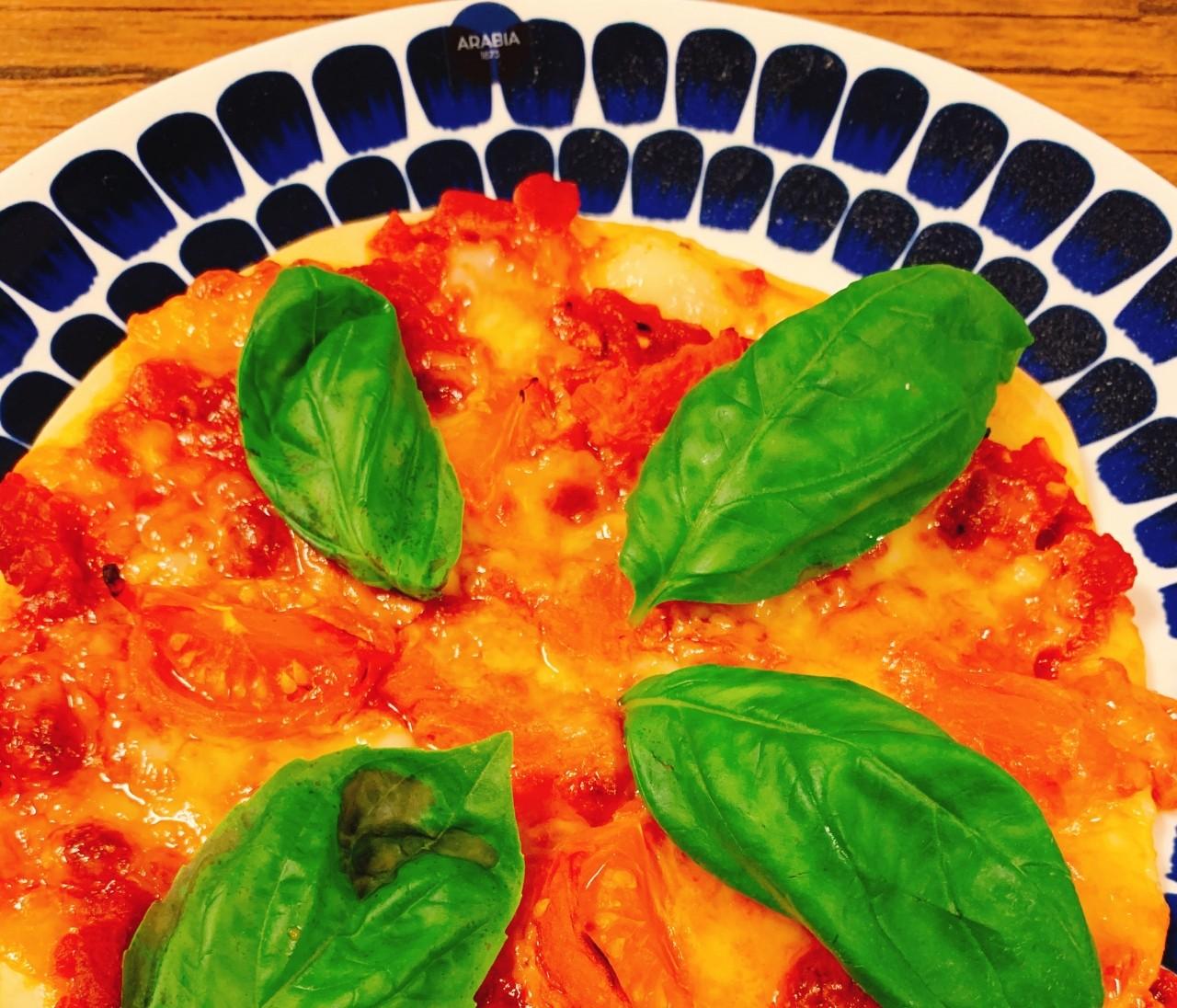 【おうちごはん】ピザ作り&万能バジルソース